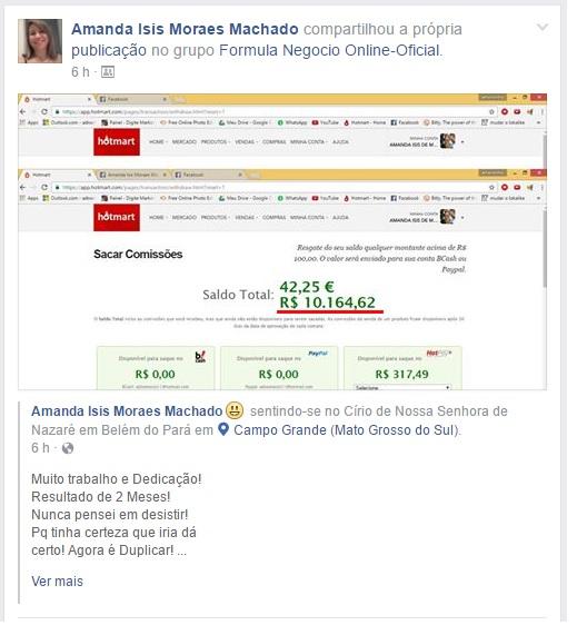 FORMULA NEGOCIO ONLINE 2019 FUNCIONA