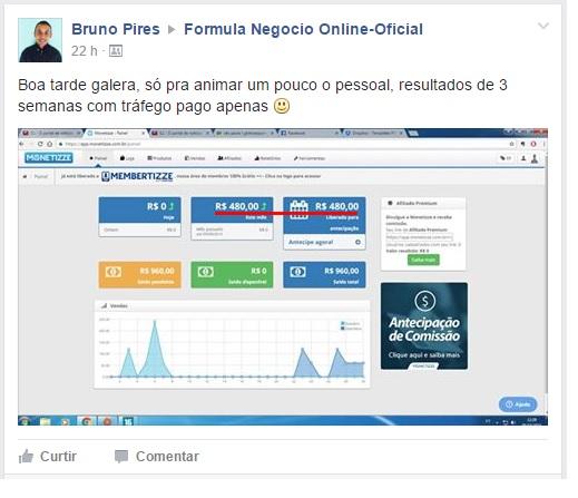 FORMULA NEGOCIO ONLINE FUNCIONA 2019DEPOIMENTO