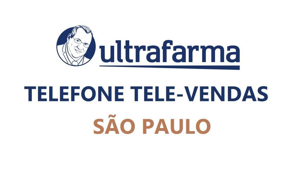 ultrafarma sp telefone tele vendas de medicamentos pedidos
