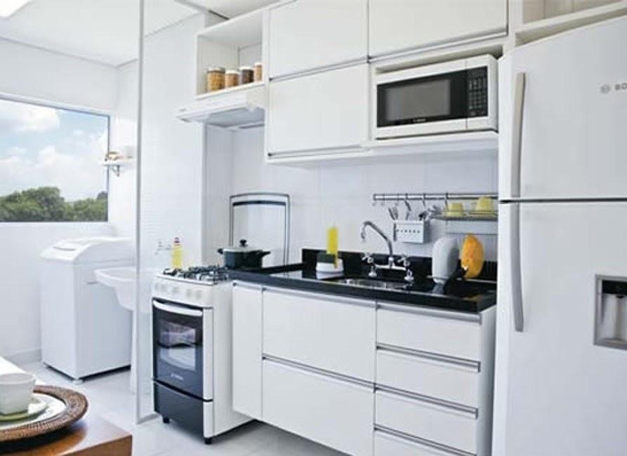 cozinha modulada para apartamento