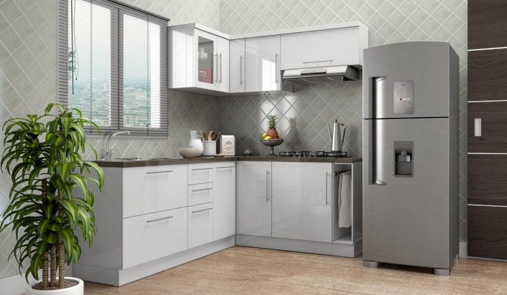 cozinha modulada pequena e simples