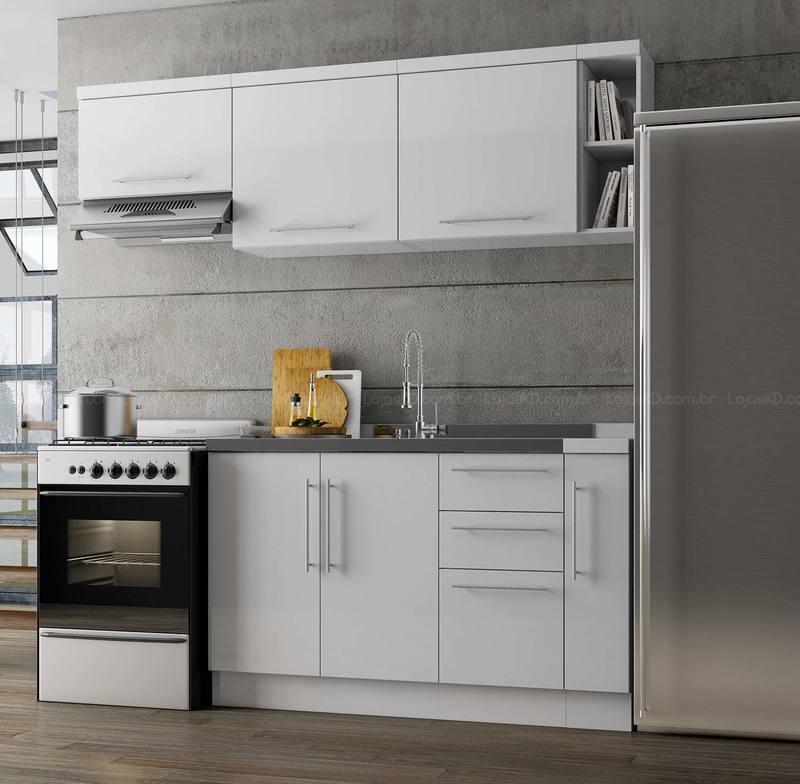 cozinha modulada pequena