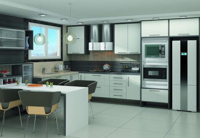 cozinha moduladas apartamento mdf