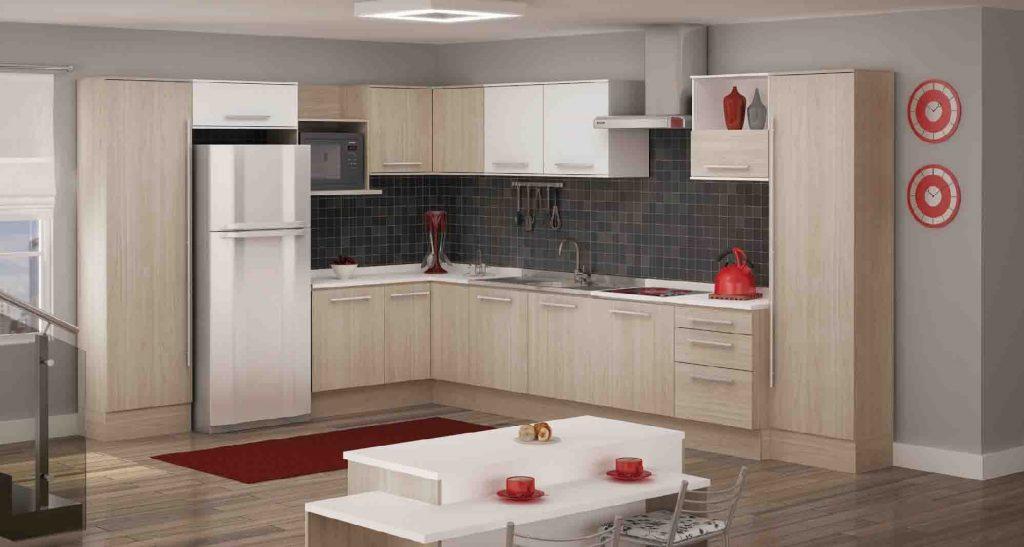 cozinhas moduladas pequenas e modernas