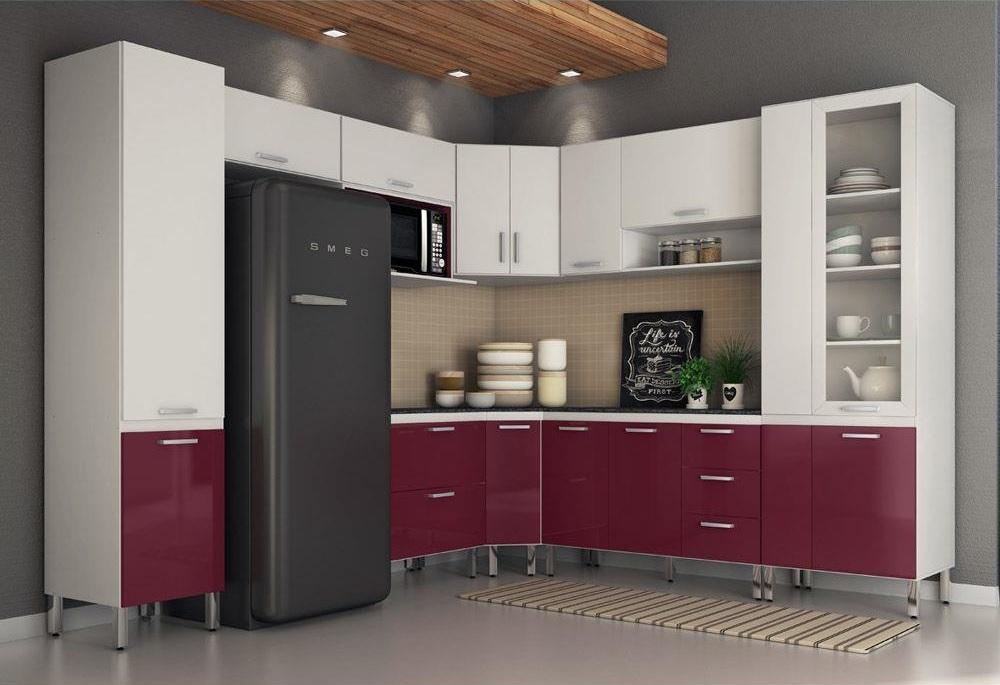 cozinhas moduladas pequenas e modernas para apartamento