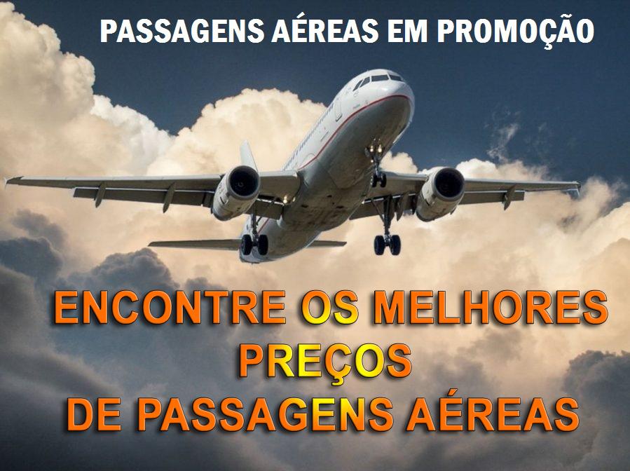 PASSAGENS AEREAS 2019