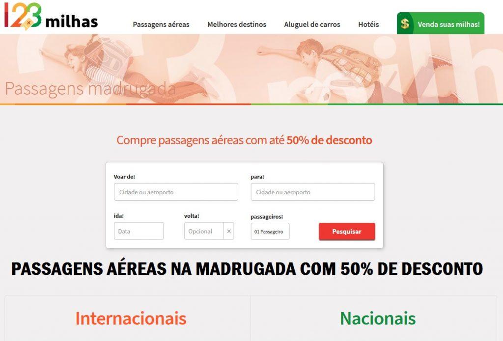 PASSAGENS AEREAS EM PROMOÇÃO MADRUGADA