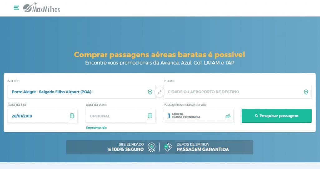 passagens aereas baratas 2019 -2020