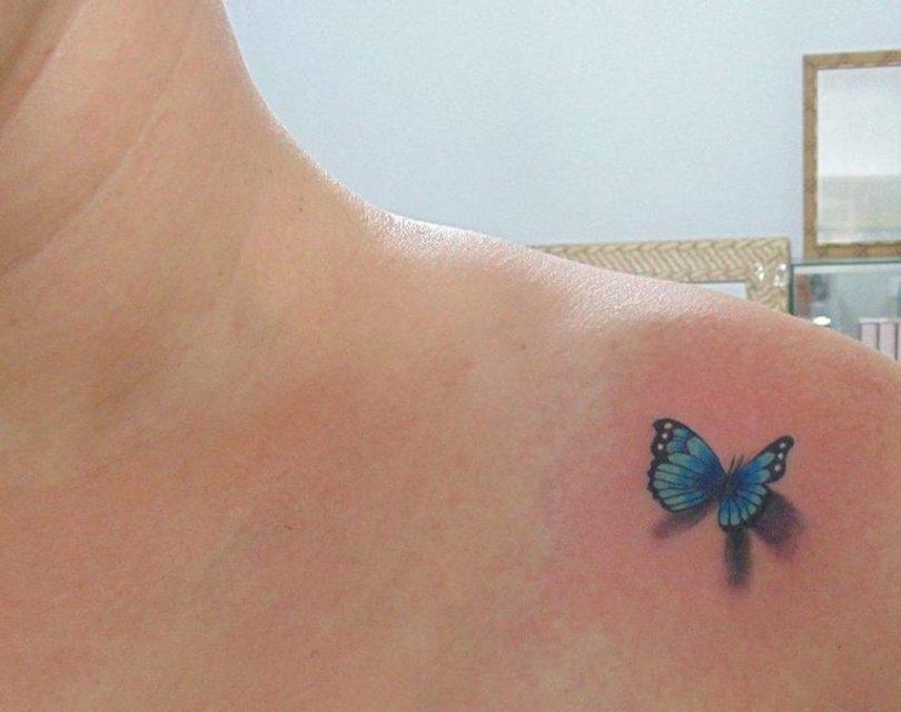 tatuagens femininas delicadas no ombro