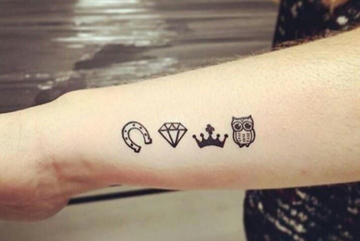 tatuagens no braço pequenas