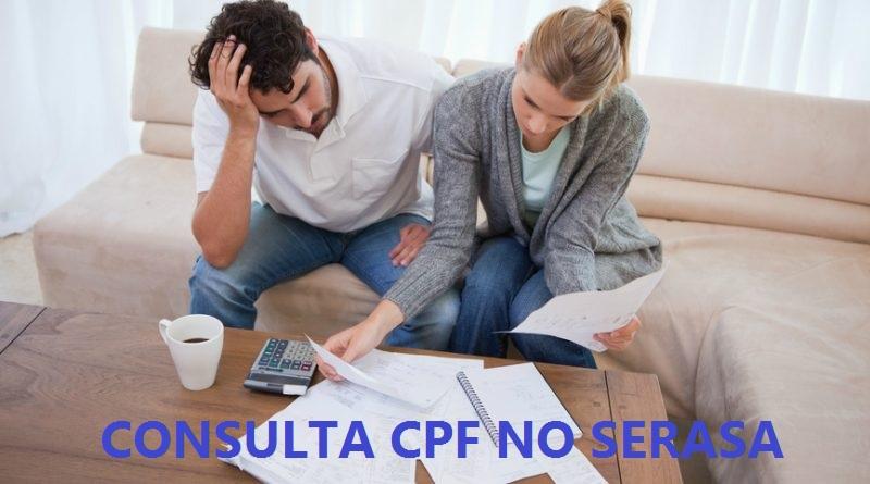 CONSULTA CPF 2019 SERASA