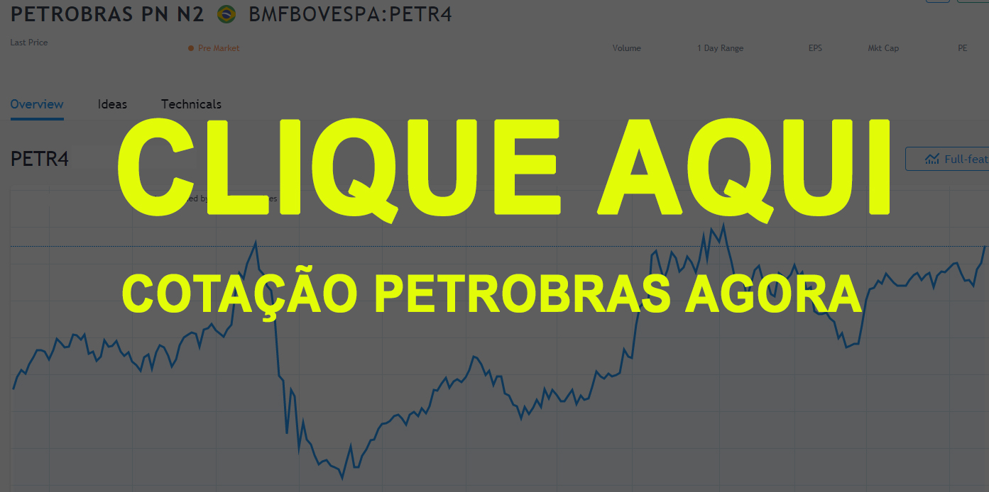 ações petrobras hoje 2019 -2020