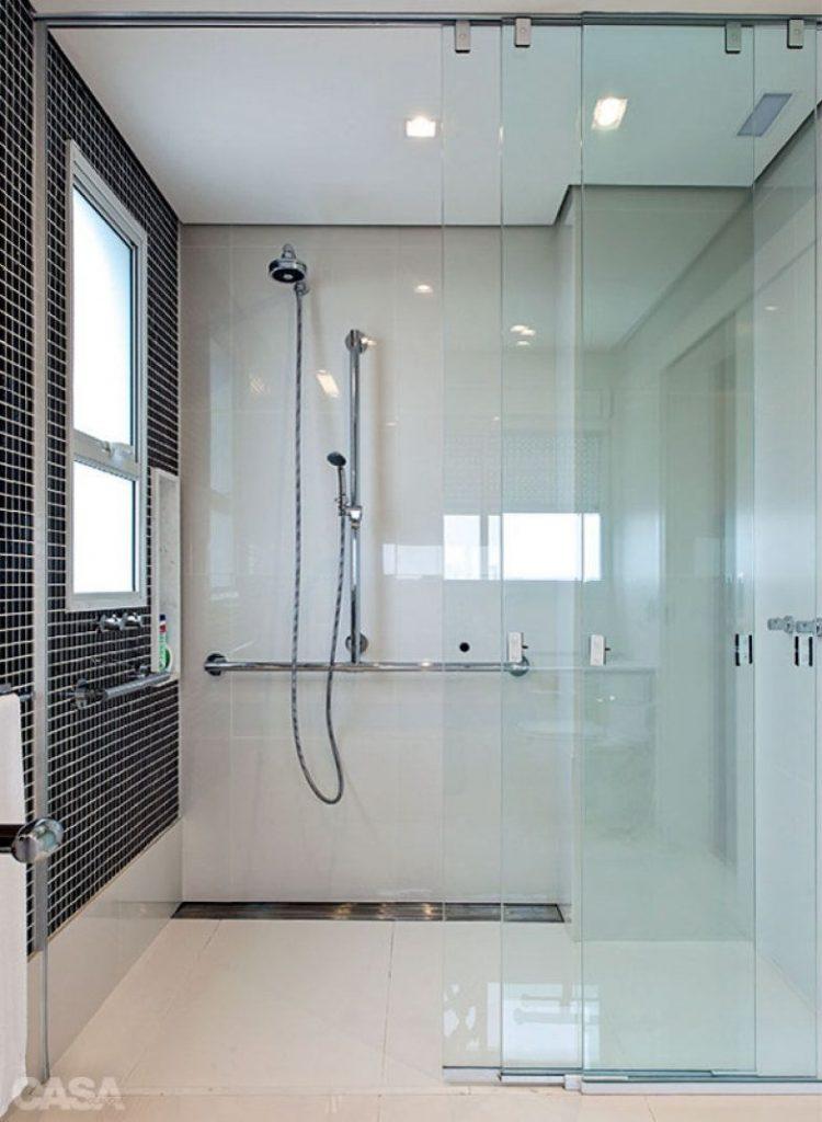 box de banheiro de vidro para apartamento e casas modernas