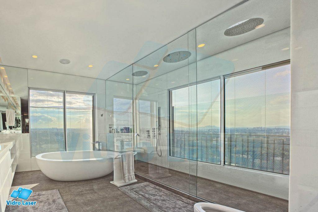 box para banheiros luxuosos luxo