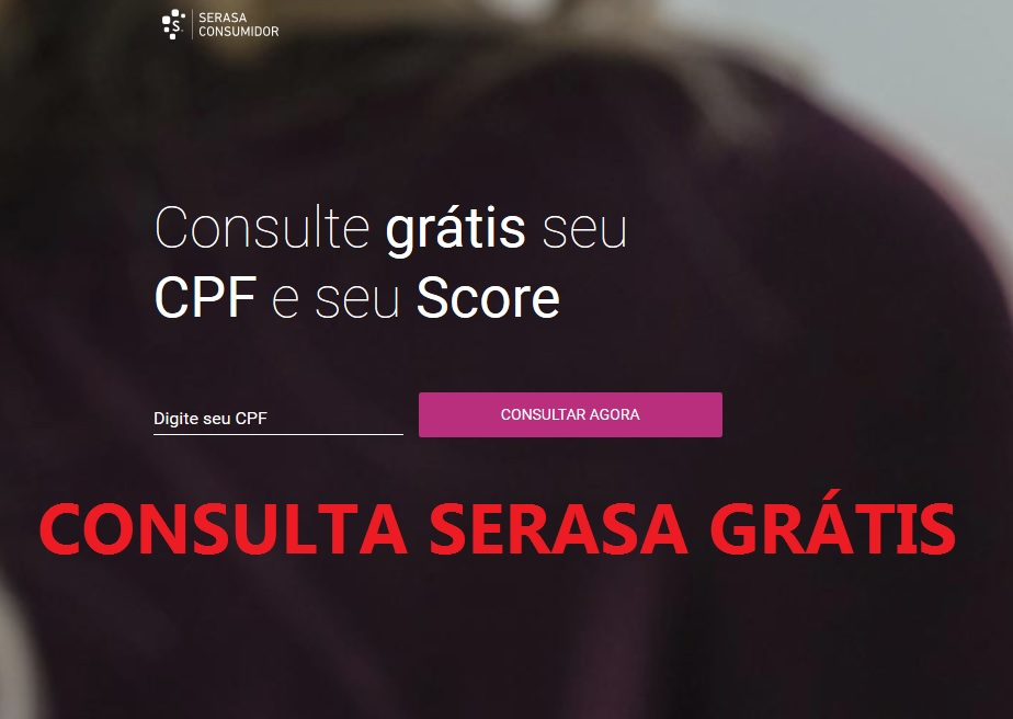consulta serasa grátis pela internet consulta cpf