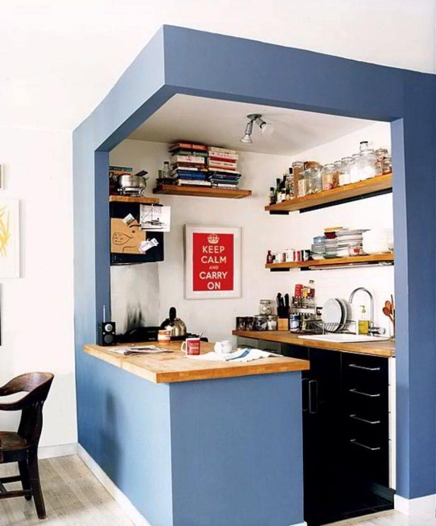 cozinha bem pequena