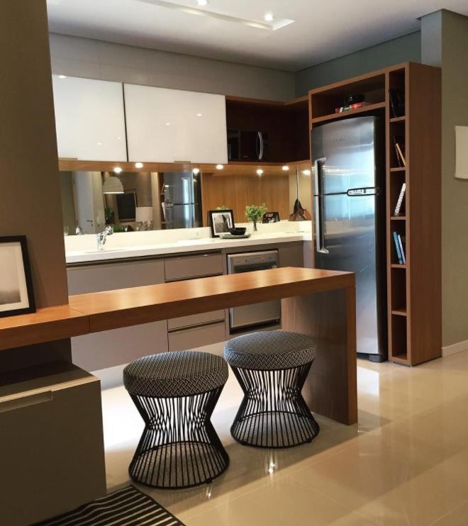 cozinha pequena decorada bonita