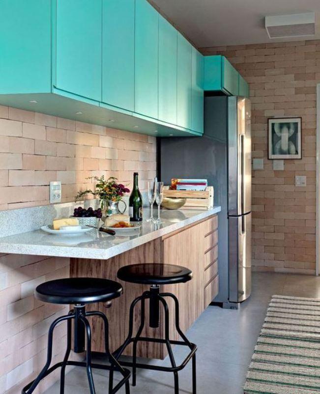 cozinhas pequenas com bancada