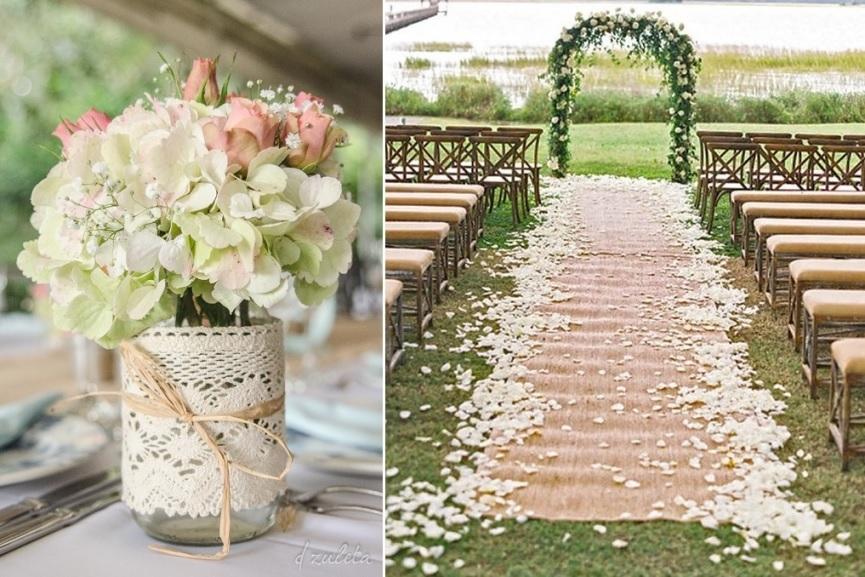 decoração para casamento ao ar livre