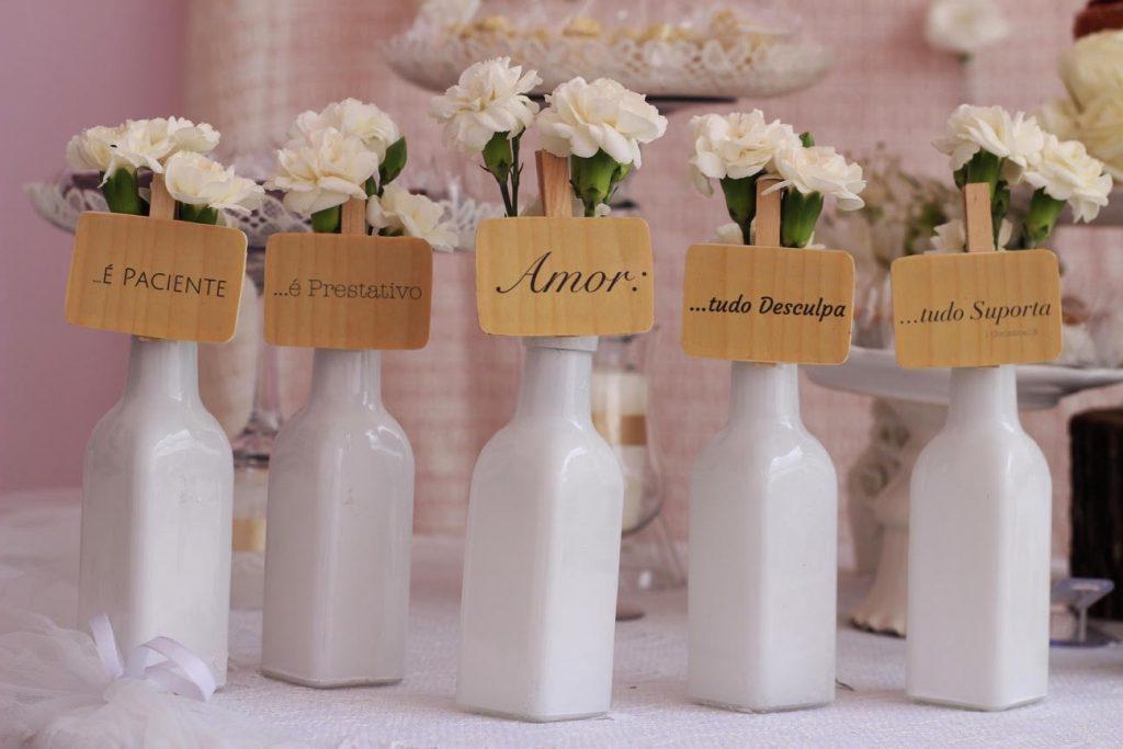 decoração para casamento simples e criativo