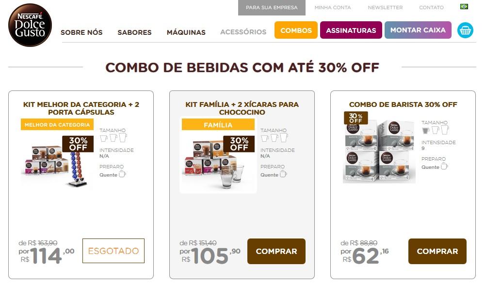 capsulas dolce gusto em promoção 2019 - 2020